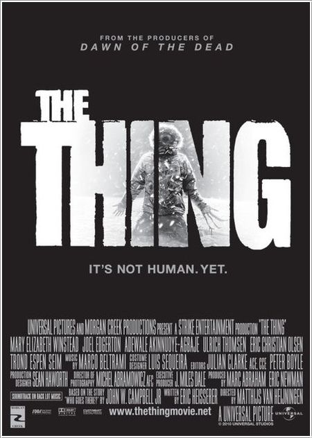 Thing poster