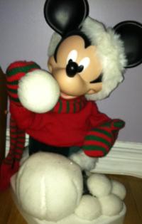 Mickey snowball