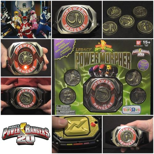 Mighty Morphin Power Rangers Legacy Morpher review cover
